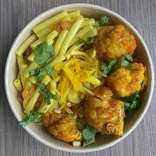 macaroni aux épices et safran