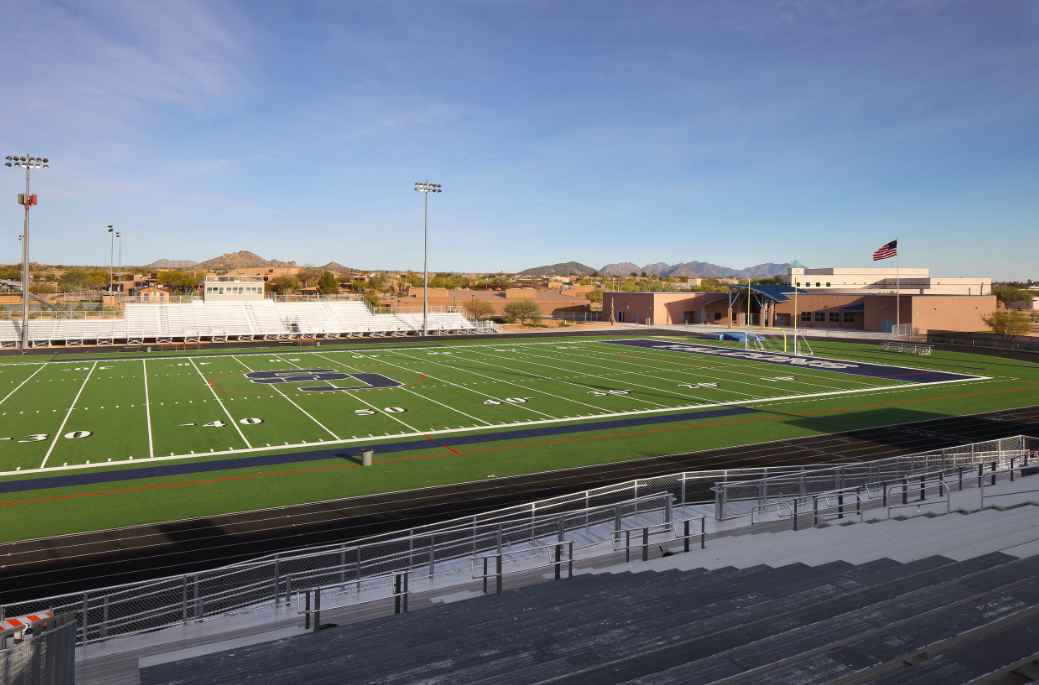 Cactus Shadows High School Field
