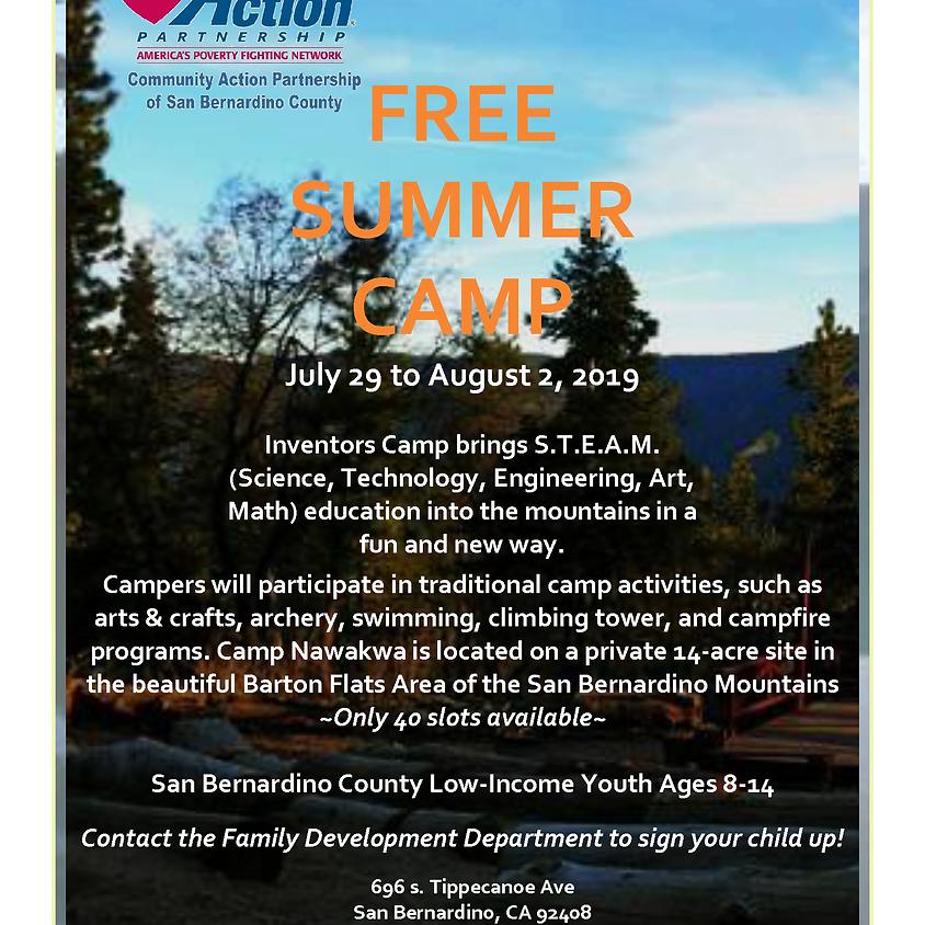 Free Summer Camp