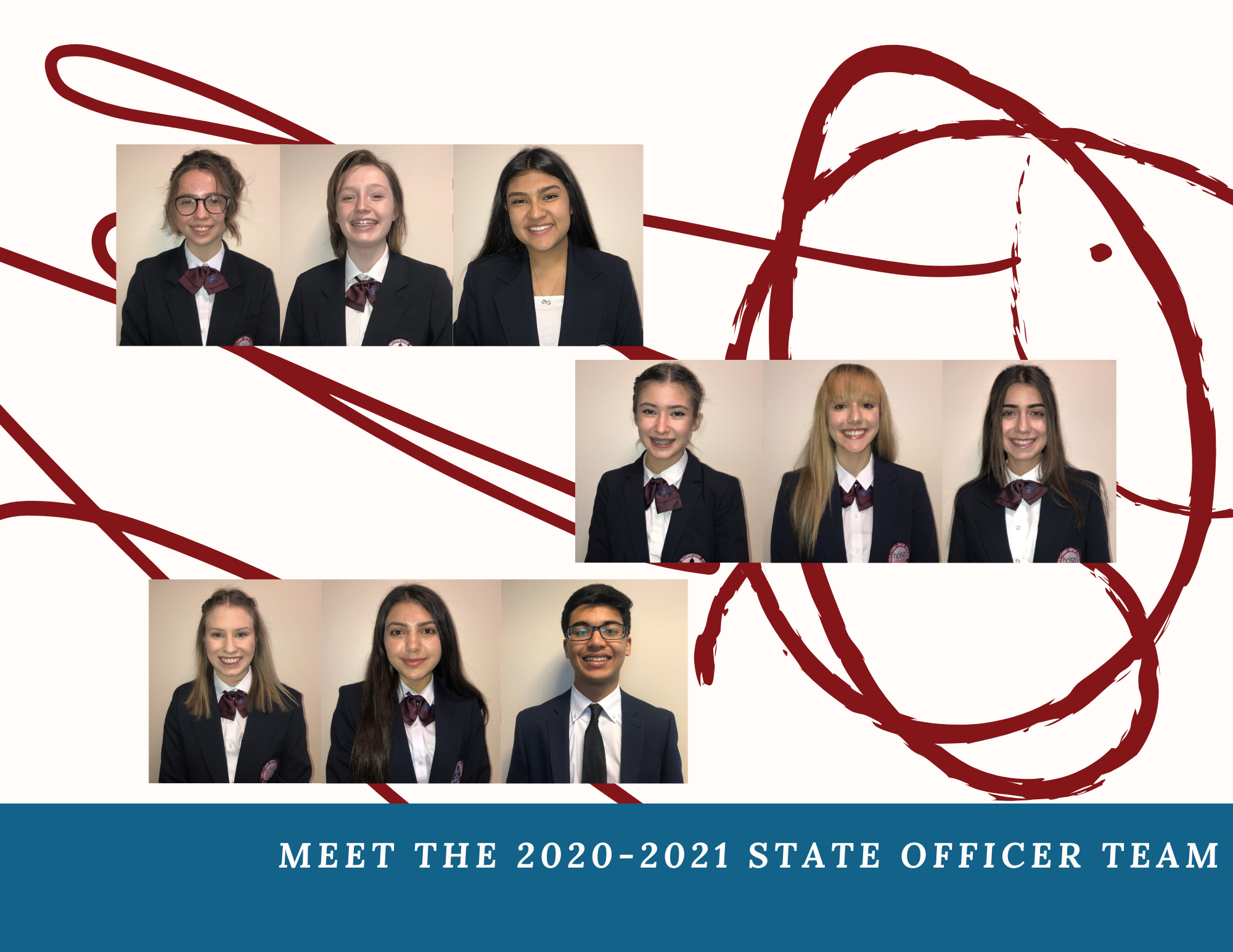 Meet the 2020-2021 State Officers!