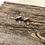 Thumbnail: Silver Glitter Gearrings