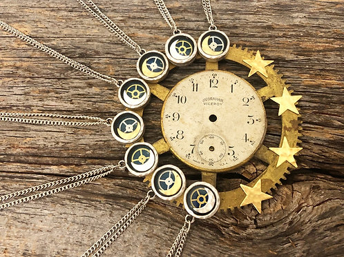 Petite GOLD Moon Necklace