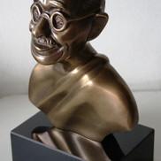 03. Busto Gandhi em Bronze.JPG