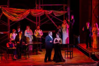La Traviata: Cleveland Opera Theater Photo by Listgarten Photography