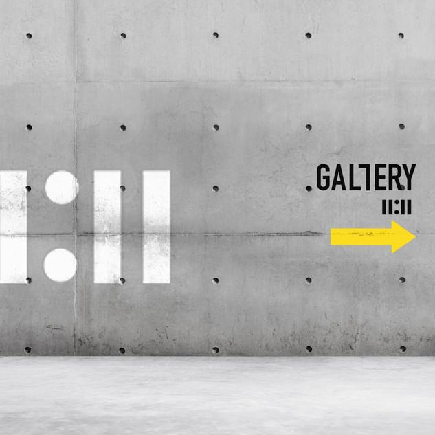 Création d'identité visuelle pour la galerie