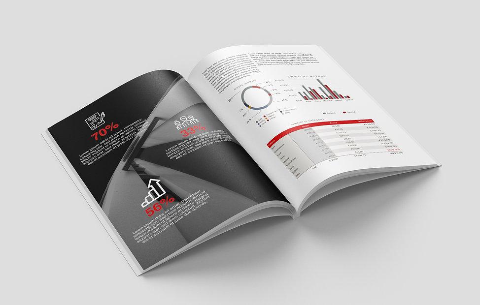 service graphique-Rapport annuel