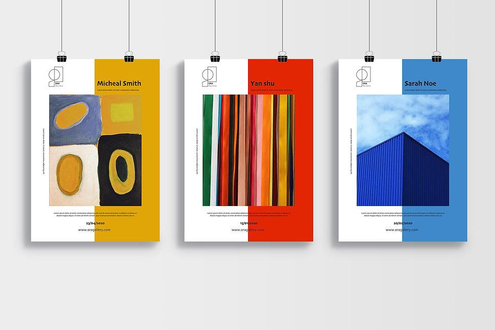 Identité visuelle-Gallery-service graphique