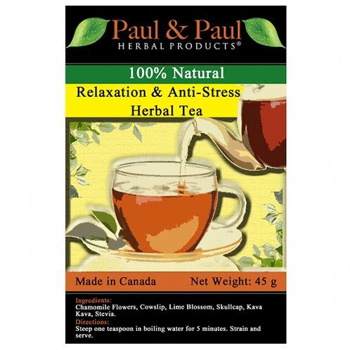 Relaxation & Anti-Stress Tea