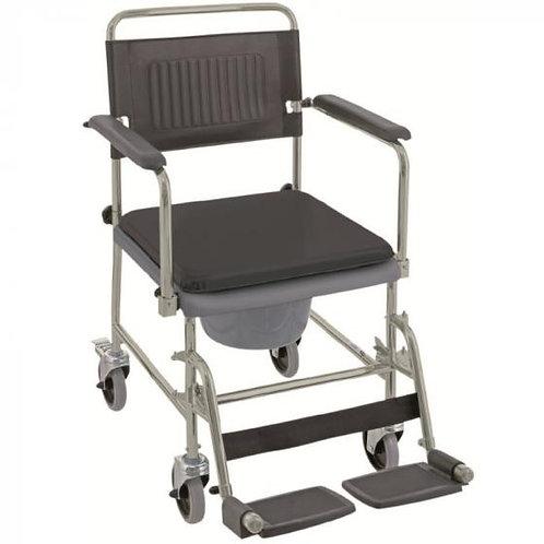 Αμαξίδιο τουαλέτας-μπάνιου με κάθισμα και κάδο Invacare Cascata