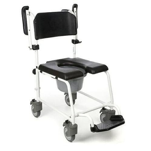 Καρέκλα ντους με 5 τροχούς Invacare Cascade