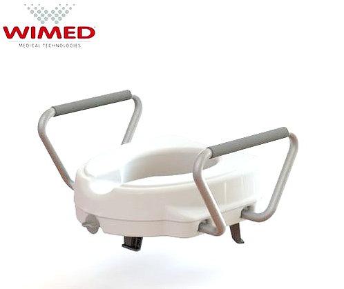Ανυψωτικό τουαλέτας με χειρολαβές 12,5cm