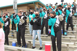 Our Marching Band! Fun In The Stands!