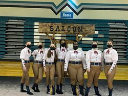 Our Fabulous Winter Guard! - Final Performance