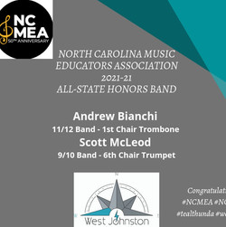 NC MEA 2021_All State Honors Band_2