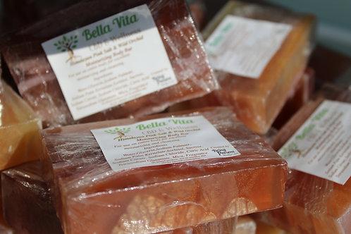 Himalayan Salt scented exfoliating soap