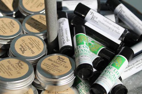 Tahitian vanilla moisturizing CBD infused lip balm