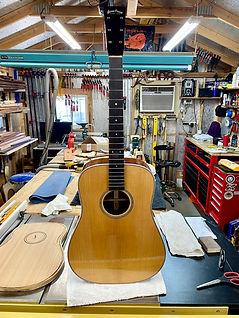 Sinker Mahogany Dreadnought Guitar 011