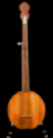 5 String Banjo Constructed Entirely of Old Growth Growth Long Leaf Pine, Salvaged from the 1897 Belleview Biltmore Hotel