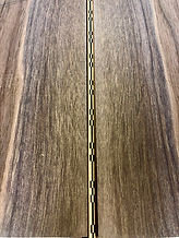 Bookmatched Black Walnut guitar back