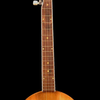 5 String Banjo Constructed from Salvaged 1897 Timbers
