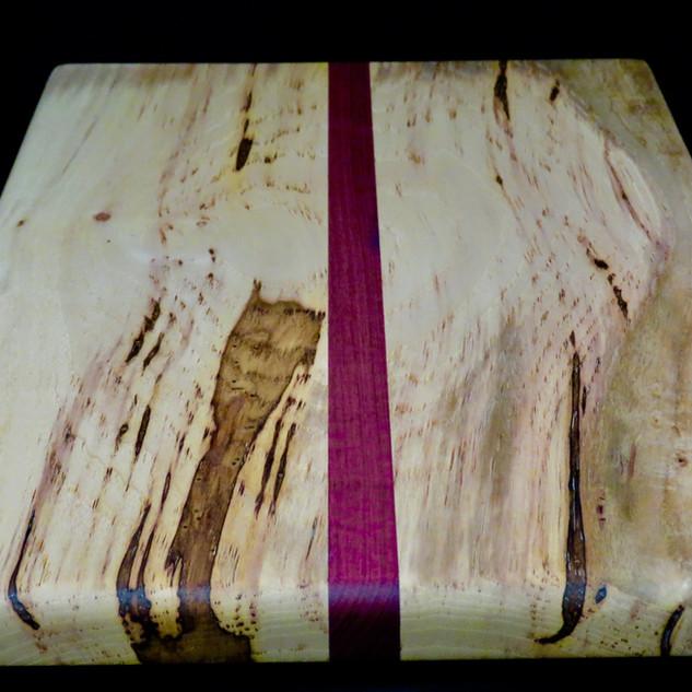 Pecan and Purpleheart Cutting Board.jpg