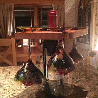 Black Cherry Wine Caddy