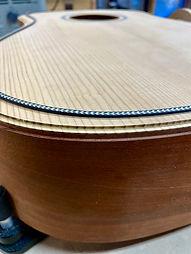 Sinker Mahogany Dreadnought Guitar 005