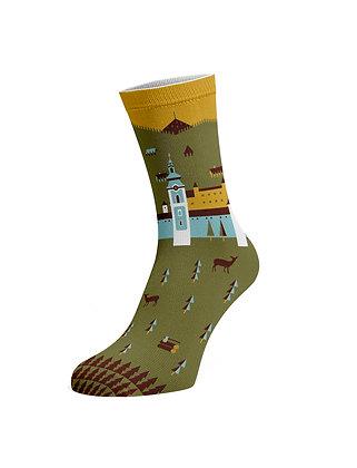 Ponožky –  Nanôžky Krajinka, Banská Štiavnica