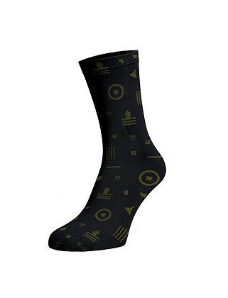 Ponožky –  Nanôžky banícke, čierne