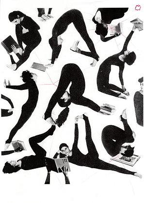 Joga - Peter Jan, risografika