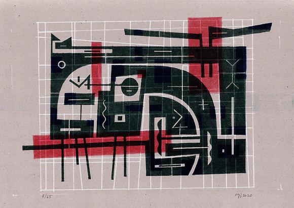 Bez názvu - Marek Lichard, risografika