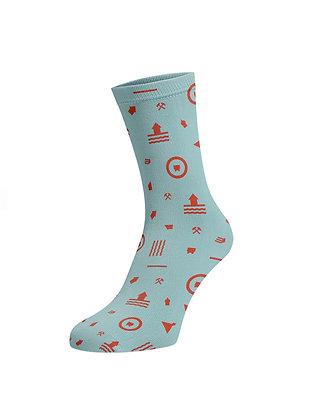 Ponožky –  Nanôžky banícke, modré