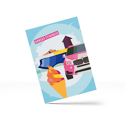 Blaviéra – Pohľadnice A6