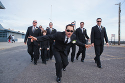 Jed with Groomsmen