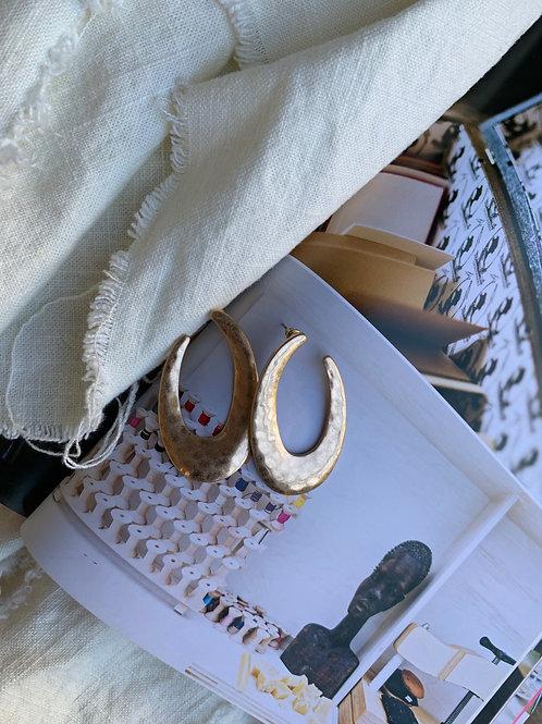 Gold Reflection Earrings