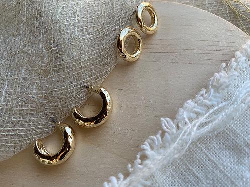 Pretty Little Gold Earrings