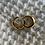 Thumbnail: Tiny Gold Hoop Earrings