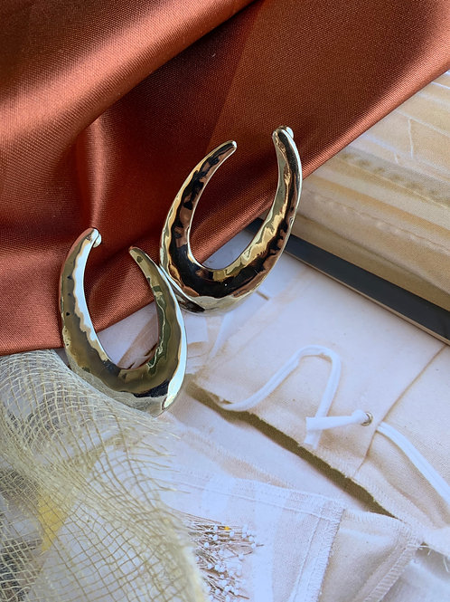 Silver Reflection Earrings