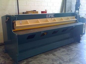 Blade Sharpen, Roll, Epic, Guillotine, service, sheetmetal, machinery