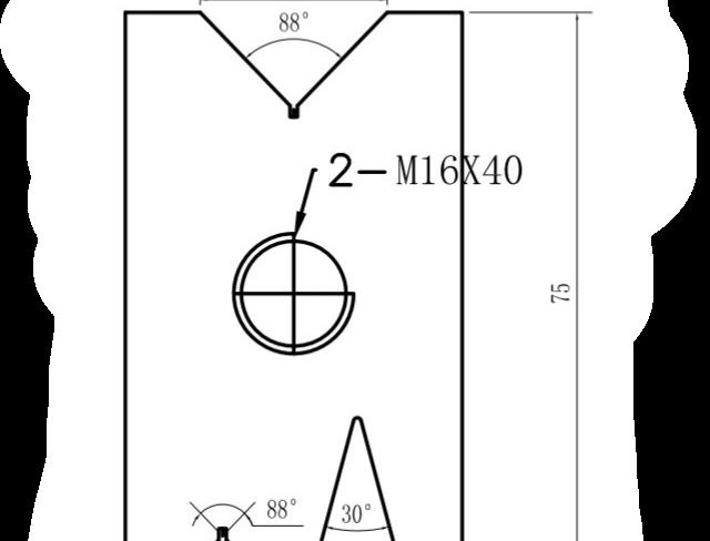 z Bottom Press Brake Tool