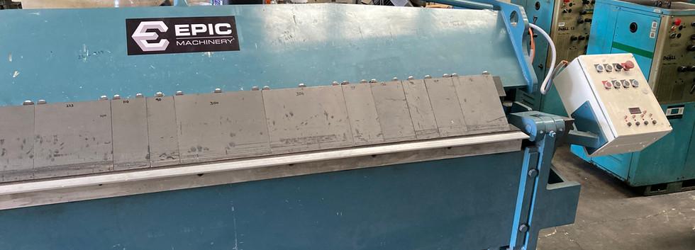 Used Epic 2.5m x 2mm Hydraulic Pan Brake