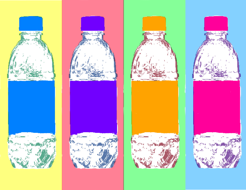 Water Bottles for Warhol