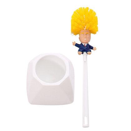 Gag Gift Trump Toilet Brush Make Toilet Great Again.