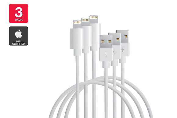 3 Pack 10FT Cables