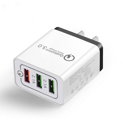 Universal 3 Port Quick Charger