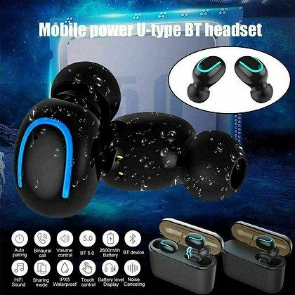 Waterproof BT 5.0 Headset TWS