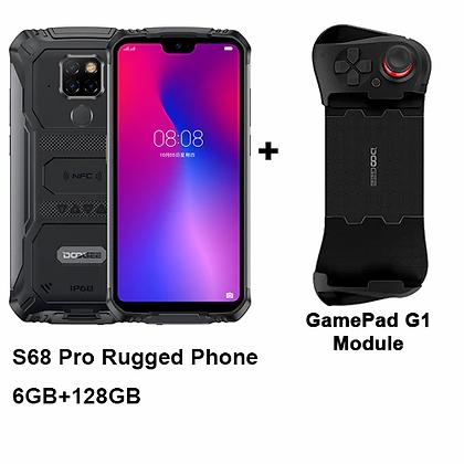 S68 Pro Rugged Phone Helio P70 Octa-Core