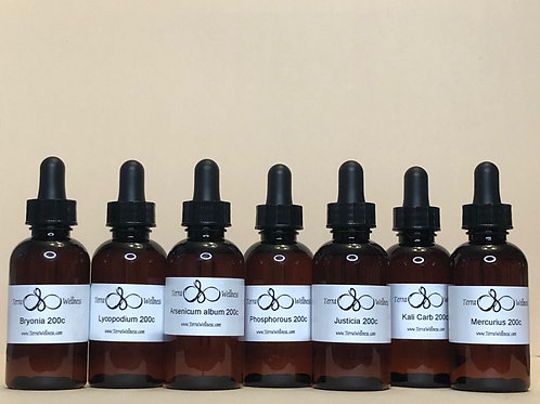 Coronavirus Homeopathic Kit (in Liquid Tinctures Form) ($108)