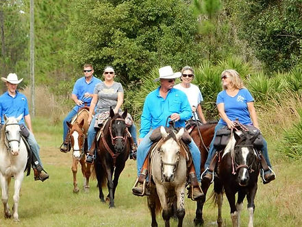 Wolfe's Born To Ride Trail Ride