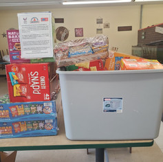 SNACKS FOR SOLDIERS AT FIVE STAR PIZZA 2020
